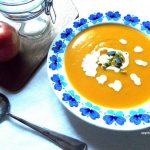 Zupa z dyni i batatów