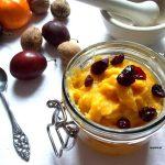 Pudding jaglany z dynią