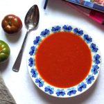 Szybka zupa krem z pomidorów i papryki
