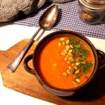 Zupa z marchewki z przyprawą do piernika