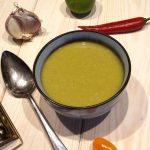 Zupa krem z mrożonego bobu