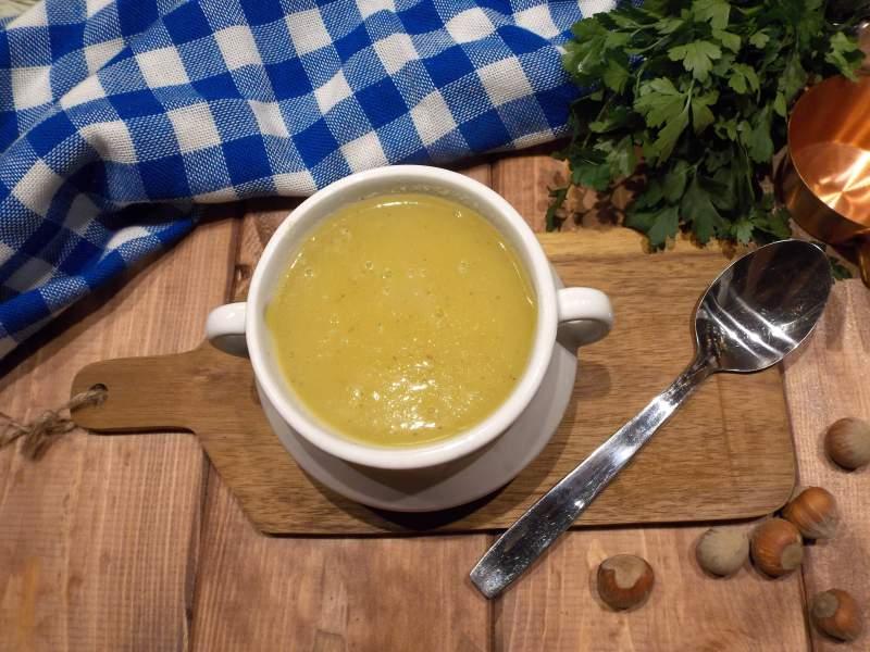 Zupa krem z żółtych buraków