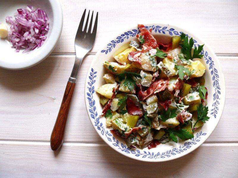 Sałatka ziemniaczana, czyli kartoffelsalat