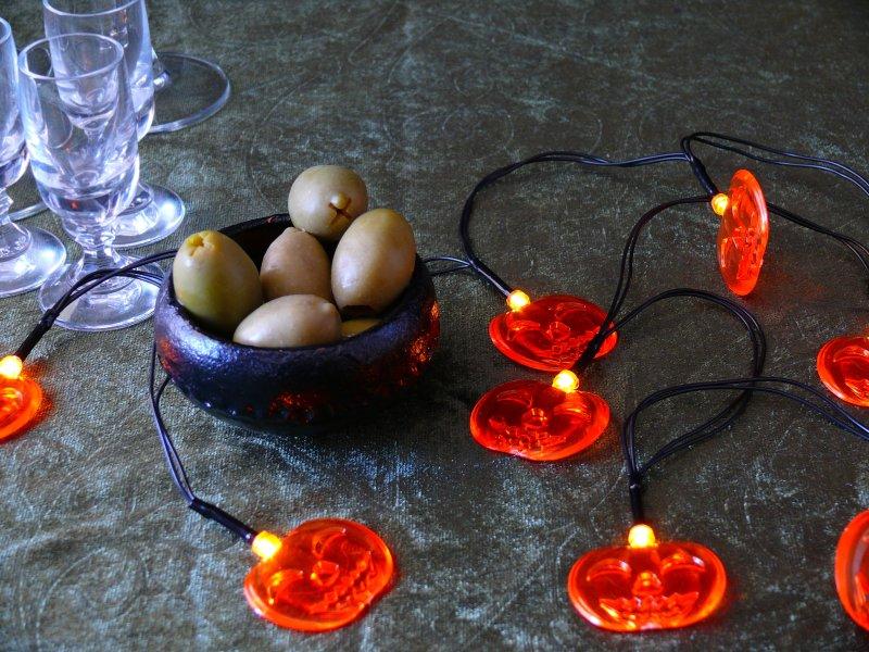 lampki diody halloween dynie sklep Pepco