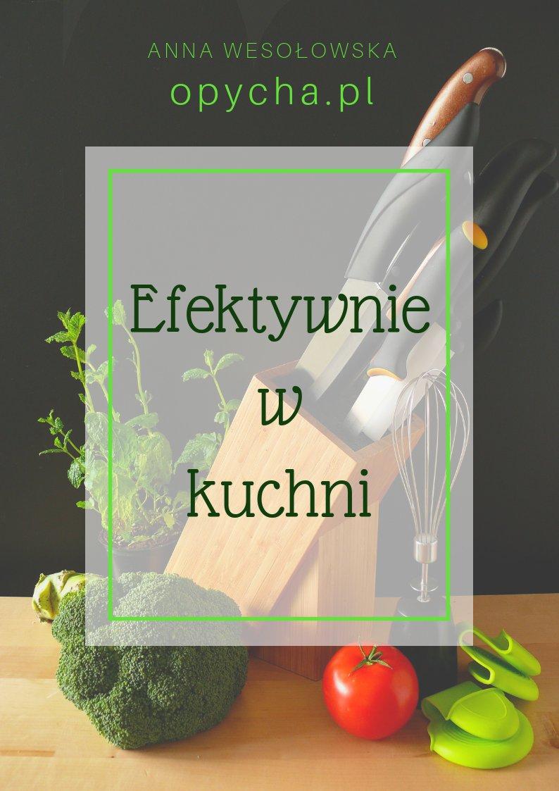 okładka e-book efektywnie w kuchni opycha.pl