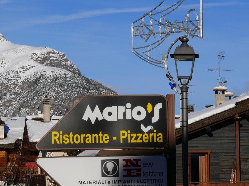 Livigno Włochy co zjeść co robić Mario's