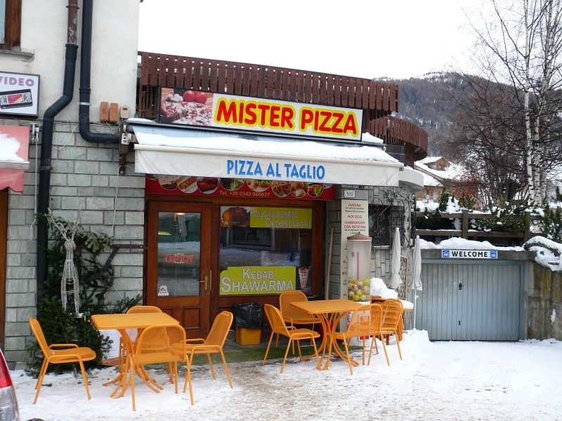 Włochy Livigno co zjeść co robić kebab