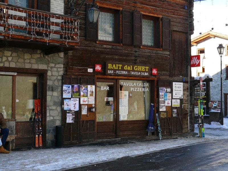 Livigno Włochy co zjeść co robić Bait dal ghet