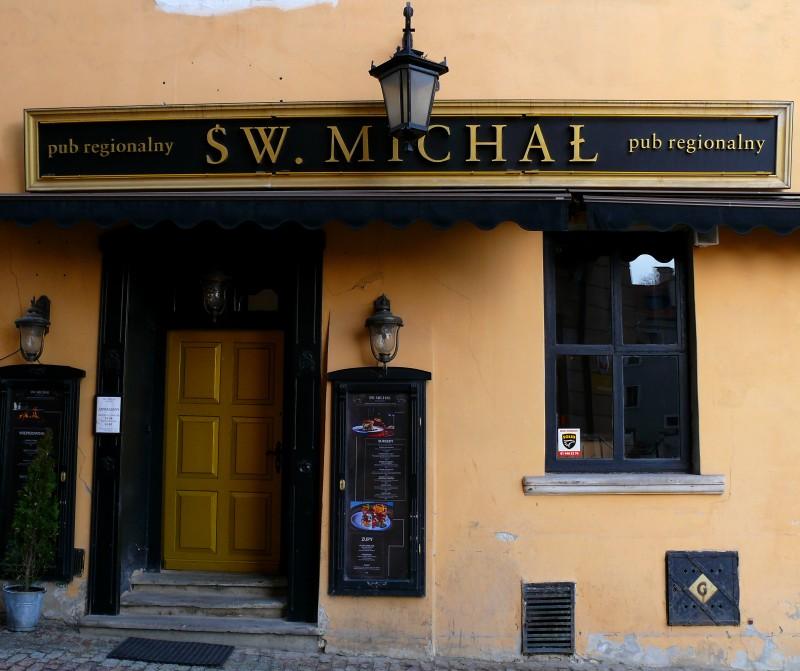 gdzie warto zabłądzić w Lublinie, zwiedzanie Lublina, Lublin na weekend, pub Św. Michał