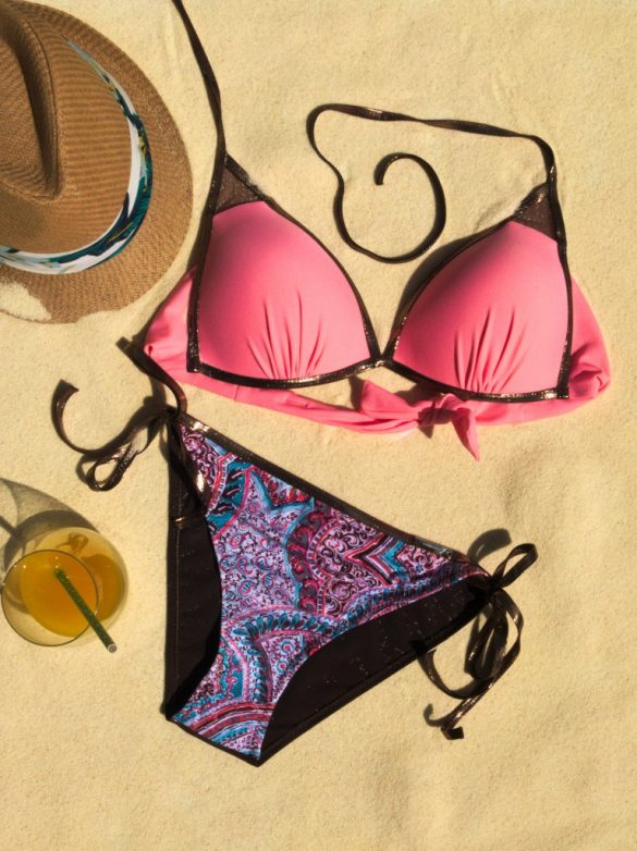 stroje kąpielowe, bikini, lato 2019