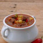 zupa gulaszowa, która rozpali w tobie ogień - papryka, wołowina, chilli, ziemniaki
