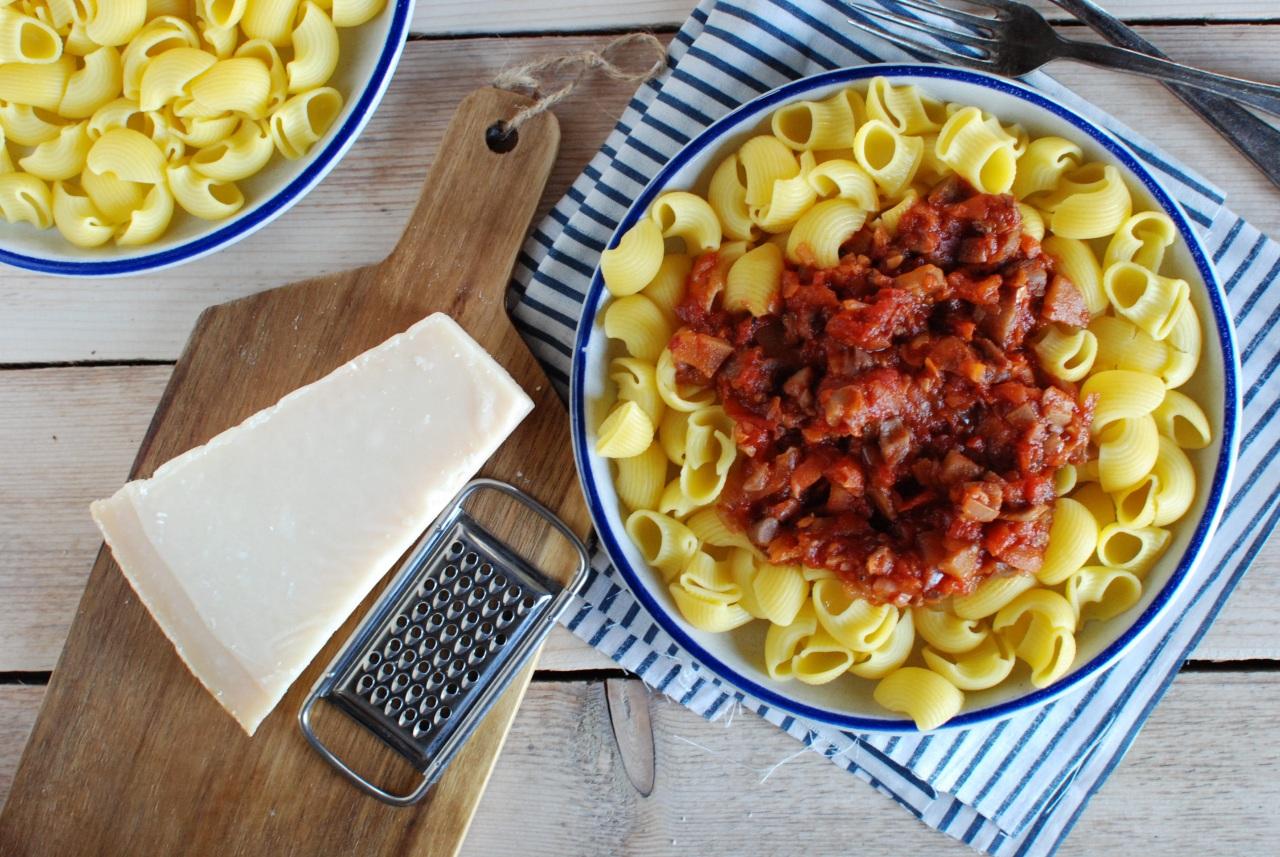 sos boloński bez mięsa