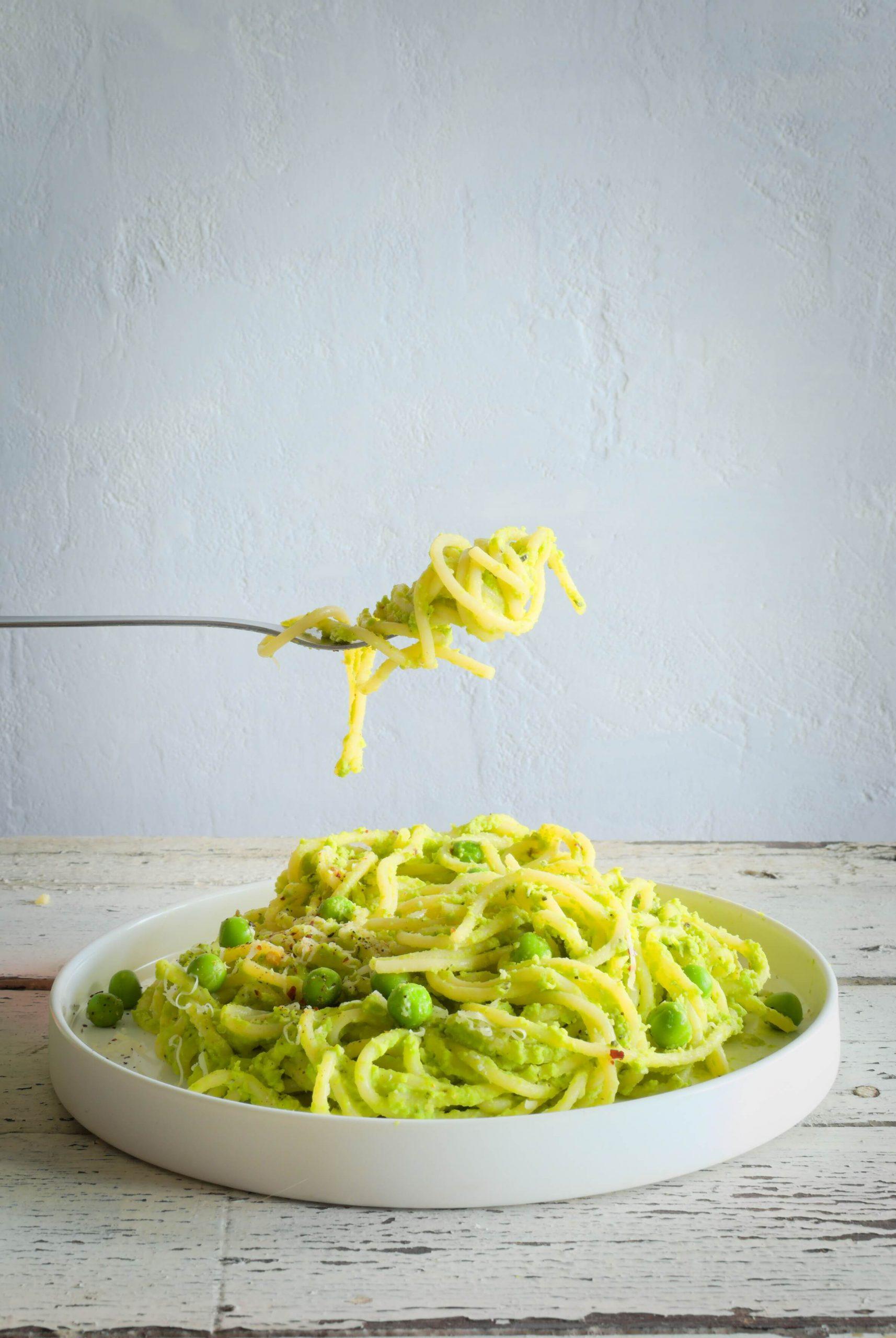 makaron spaghetti z