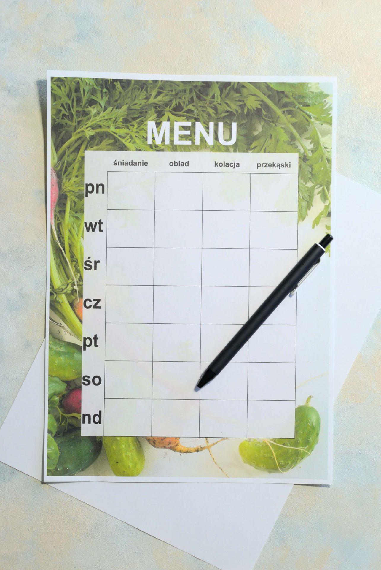 Planowanie posiłków -dlaczego ci nie wychodzi?